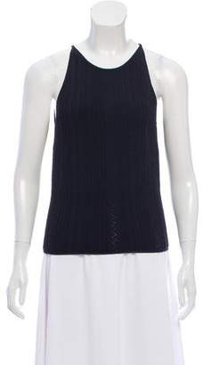 Gianni Versace Sleeveless Knit Top