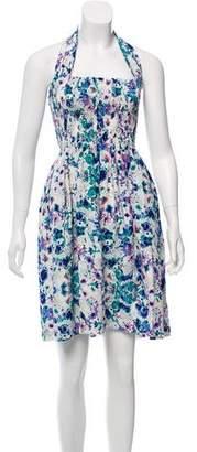 Piamita Patterned Halter Dress