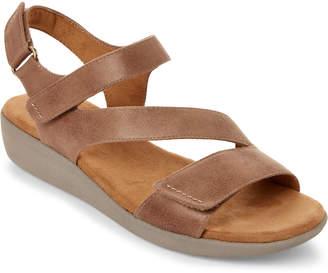 Easy Spirit Taupe Kailynne Open Toe Sandals