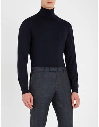 SLOWEAR Turtleneck flexwool knitted jumper