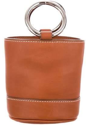 Simon Miller Leather Mini Bucket Bag