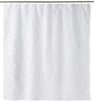 Famous Home Fashions Belle Circular Shower Curtain