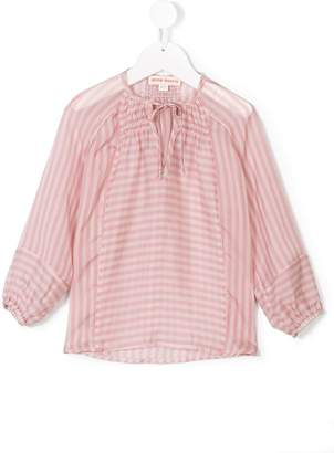 Anne Kurris striped tie-neck blouse