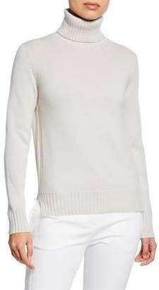 Loro Piana Long-Sleeve Baby Cashmere Turtleneck Sweater