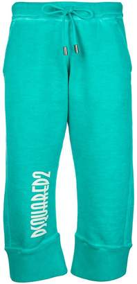 DSQUARED2 cropped hula joggers
