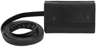 Isabel Benenato Belt Around Crossbody Leather Bag