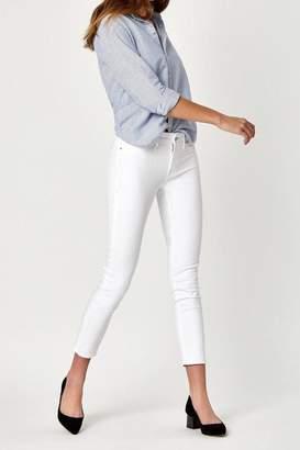 Mavi Jeans White Ankle Crop