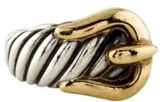 David Yurman Cable Buckle Ring