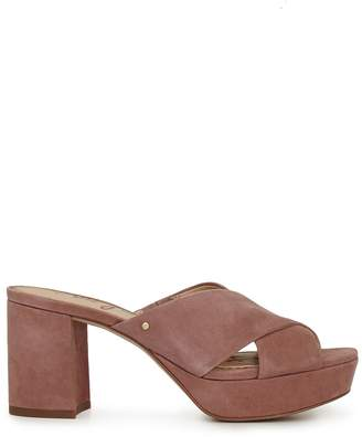 9940549f797 Sam Edelman Pink Suede Sandals For Women - ShopStyle Canada