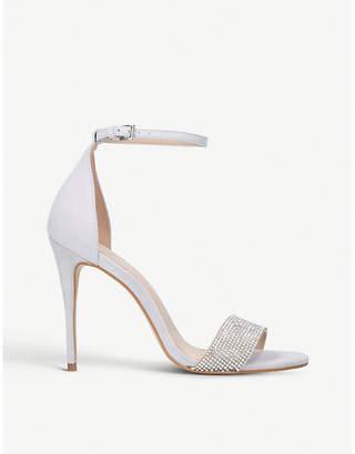 Carvela Gideon embellished suede sandals