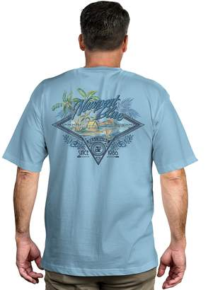 Newport Blue Men's Island Tropical Graphic Tee