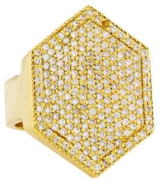 Jennifer Fisher Pavé Geometric Ring