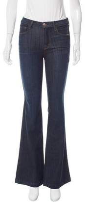J Brand Maria Flare Mid-Rise Jeans w/ Tags