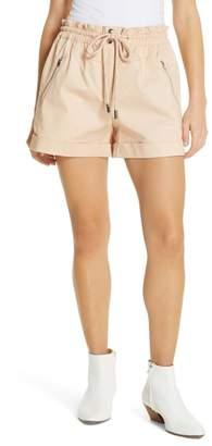 Robert Rodriguez Harper High Waist Shorts