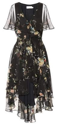 Zimmermann Floral-printed silk dress