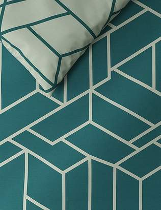 Marks and Spencer Large Scale Geometric Print Bedding Set