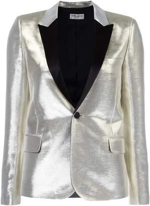 Saint Laurent singled breasted tuxedo jacket