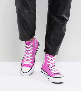 Converse Chuck Taylor All Star Sneakers In Bright Magenta