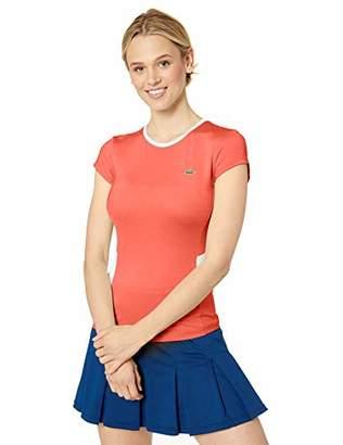 0bb62773e Lacoste Women's S/S Jersey Performance Tennis TEE Shirt
