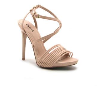 9f2c0f2537cb Qupid Womens Gladly-81 Heeled Sandals