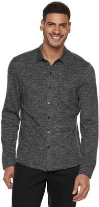 Marc Anthony Men's Long Sleeve Knit Button-front Shirt