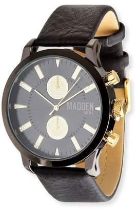 Steve Madden Men's Leather 40mm Watch