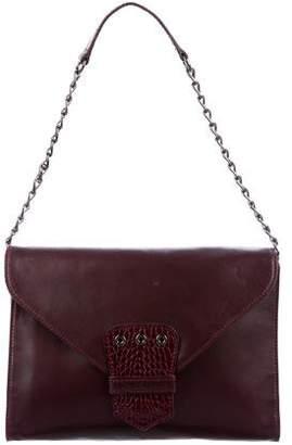Kate Moss x Longchamp Leather Shoulder Bag