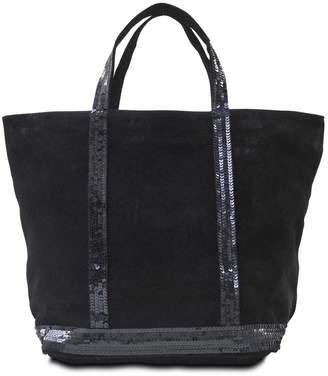 Vanessa Bruno Medium Tote Leather Sequins $280 thestylecure.com