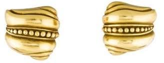Kieselstein-Cord 18K Sculpted Clip-On Earrings