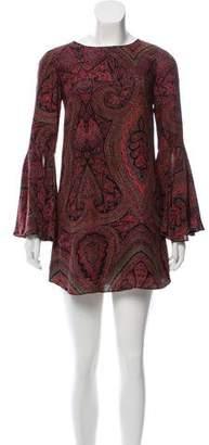 Elizabeth and James Printed Silk Dress