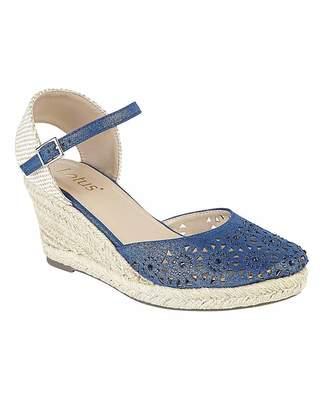 Lotus Nigella Wedge Sandals