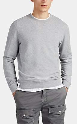Sunspel Men's Cotton Terry Sweatshirt - Gray