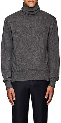 Officine Generale Men's Cashmere Turtleneck Sweater - Gray