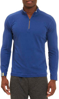 Robert Graham Owens 1/4- Zip Tailored Fit Pullover