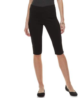 Dana Buchman Petite Pull-On Skimmer Shorts