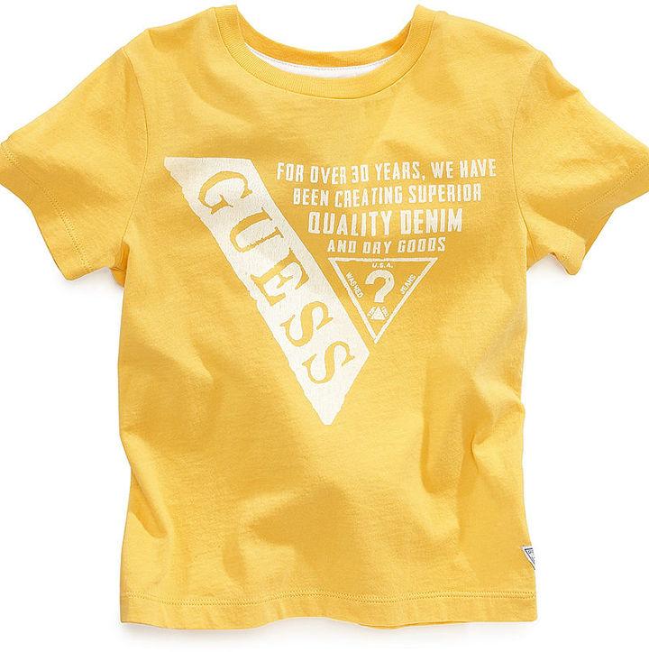 GUESS T-Shirt, Little Boys Logo Tee