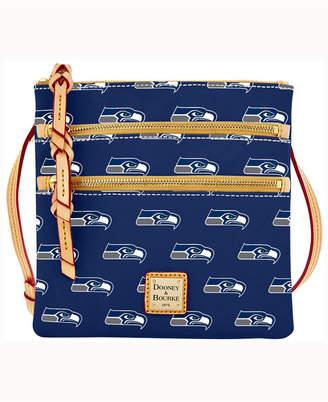 Dooney & Bourke Seattle Seahawks Triple-Zip Crossbody Bag
