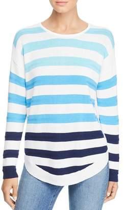 Design History Color-Block Stripe Sweater