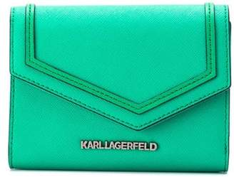 Karl Lagerfeld Paris Rocky Saffiano wallet