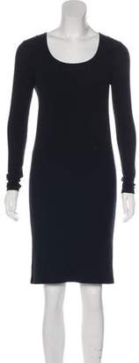 ATM Anthony Thomas Melillo Rib Knit Midi Dress