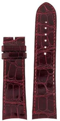 Piaget 20mm Crocodile Watch Strap