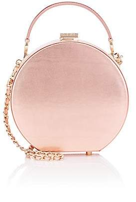 Aspinal of London GILES X Women's Mini Leather Hat-Box Bag - Pink
