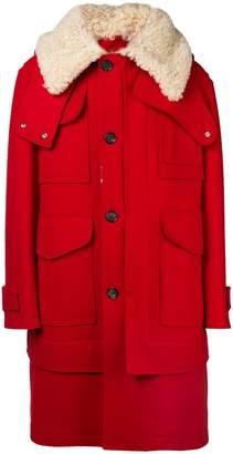 Alexander McQueen duffle coat