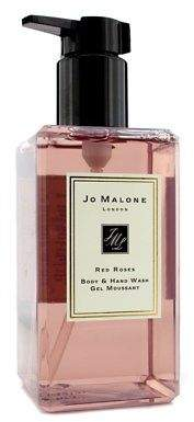 Jo Malone NEW Red Roses Body & Hand Wash (With Pump) 250ml Perfume