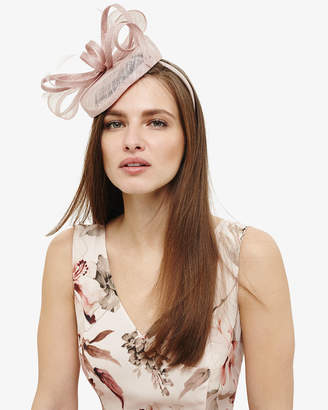 Phase Eight Cassie Twisted Bow Pillbox Fascinator