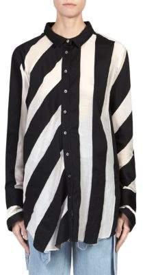 Marques Almeida Marques'Almeida Striped Shirt