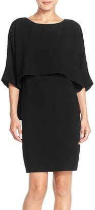 Women's Adrianna Papell Draped Blouson Sheath Dress $140 thestylecure.com