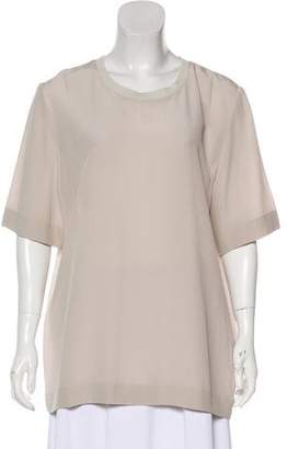 Stella McCartney Silk Short Sleeve Blouse w/ Tags