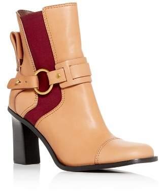 See by Chloe Women's Alexis High-Heel Booties