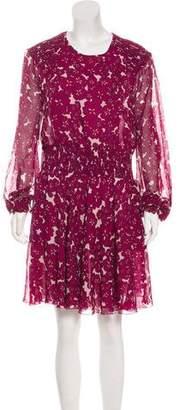 Giamba Silk Shift Dress